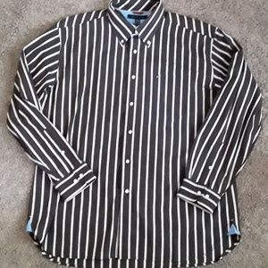 Tommy Hilfiger xl 80's 2ply button down shirt
